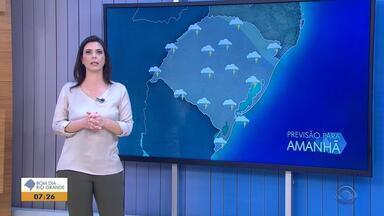 Tempo: sexta-feira (31) será de chuva no RS - Veja como fica a previsão.