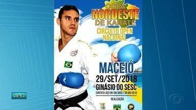 Copa Nordeste de Karatê começa em setembro - Esporte foi aceito por unanimidade, Federação Alagoana de Karatê começa competições nacionais para Olimpíadas 2020