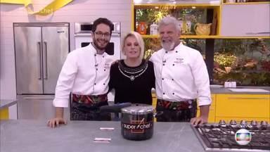Mais você - Programa de quinta-feira, 30/08/2018, na íntegra - Rainer Cadete e Raul Gazolla estão na panela de pressão e disputam a preferência do público para continuar no 'Super Chef Celebridades'. O programa também mostra o workshop do chef Onildo Rocha