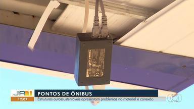 Telespectadores reclamam de construção precária e falta de wi-fi em pontos de ônibus - Telespectadores reclamam de construção precária e falta de wi-fi em pontos de ônibus