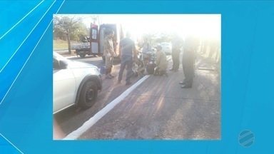 Mulher tem bicicleta roubada em Corumbá - Ela se negou a entregar o veículo, mas bandidos a derrubaram e roubaram a bicicleta.