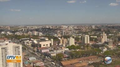 Campinas tem máxima de 31ºC e mínima de 15ºC com céu limpo - Confira a previsão do tempo para as outras cidades da região.