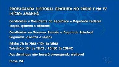 Propaganda eleitoral gratuita no rádio e televisão tem início nesta sexta-feira (31) - Durante o primeiro turno, conteúdo político vai ser exibido até o dia 4 de outubro. Ou seja, serão 35 dias de propaganda.