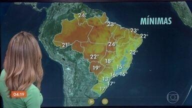 Tempo continua seco em boa parte do país nesta sexta-feira (31) - Previsão é de chuva no Rio Grande do Sul. O mês de setembro deve começar com chuva. Confira como fica o tempo em todo o país.