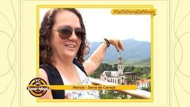 Veja selfies publicadas nas redes sociais mostrando pontos turísticos de MG - É o quadro #SelfieTerradeMinas. Você pode participar escrevendo a hashtag em suas fotos publicadas nas redes sociais.