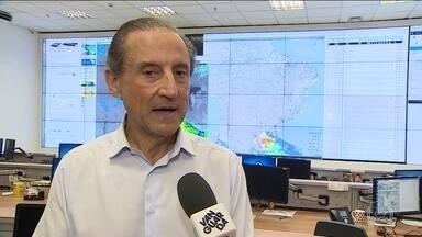 Paulo Skaf vistia pólo industrial - Paulo Skaf, candidato do MDB, visitou São José dos Campos.