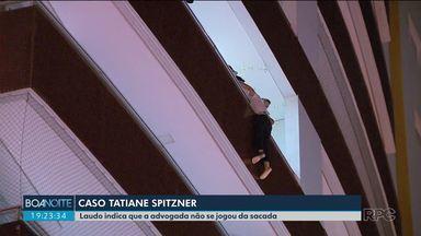 Laudo da polícia aponta que Tatiane Spitzner não se jogou da sacada - Ministério Público anexou nesta semana novo laudo ao processo que investiga a morte da advogada.