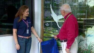 Descerramento de placa marca comemoração dos 46 anos da Rede Amazônica - Cerimônia contou com a presença do CEO do Grupo.