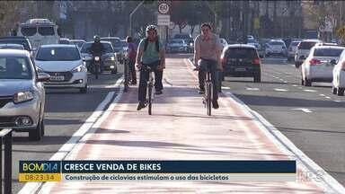 Cresce as vendas de bicicletas no estado - Cidades apostam em ciclovias para melhorar a mobilidade