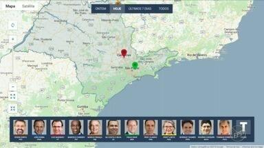 Confira onde candidatos ao governo de SP fizeram campanha na manhã neste sábado (1) - EPTV acompanha agenda de campanha dos candidatos ao governo.