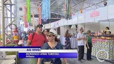 Atibaia pomove mais uma edição da Festa de Flores e Morangos - Veja as opções oferecidas as visitantes da festa.