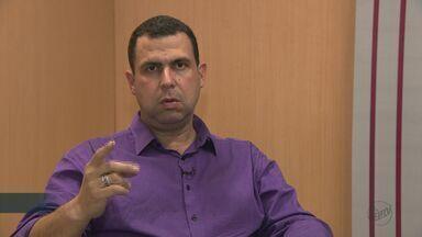 'Eleições 2018': EPTV 1 entrevista Maj. Costa e Silva (DC), candidato ao governo estadual - Confira entrevista completa com candidato.