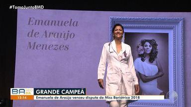 'Miss Bariátrica' reúne mulheres que venceram a obesidade; conheça a campeã - Confira os detalhes da competição que também resgata a autoestima das mulheres.