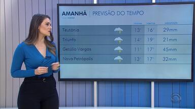Tempo: domingo (2) será de chuva no RS - Veja como fica a previsão.