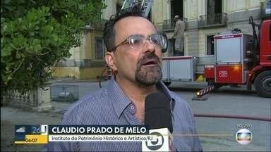 Destruição do acervo do Museu Nacional é uma perda imensurável para cultura - Claudio Prado de Melo, Instituto do Patrimônio Histórico e Artístico do Rio explica a importância do patrimônio do Museu Nacional.