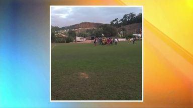 Jogador de futebol morre após passar mal durante uma partida em Ubaporanga - Ele foi socorrido e morreu antes de dar entrada no hospital.