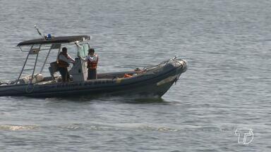 Órgãos fiscalizam e orientam para garantir segurança nas praias e balneários de Santarém - Movimentação tende aumentar nos próximos meses do verão amazônico na região e as operação foram intensificadas.