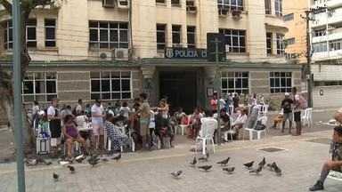 Ação solidária aconteceu ontem na Praça dos Voluntários - Saiba mais em g1.com.br/ce