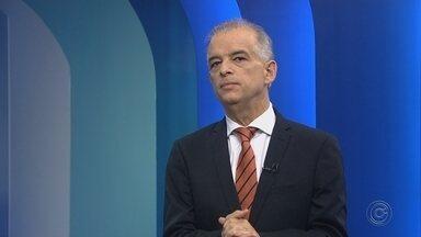 Márcio França, candidato ao governo de SP, é entrevistado no TEM Notícias - O candidato ao governo do Estado de São Paulo Márcio França (PSB) foi entrevistado ao vivo no TEM Notícias 1ª Edição desta segunda-feira (3).