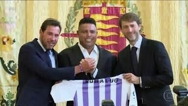 Ronaldo Fenômeno é o novo dono do Valladolid - Ronaldo tem 51% das ações e se tornou o dono majoritário.