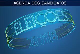 Confira a agenda dos candidatos para esta segunda (03) - Confira a agenda dos candidatos para esta segunda (03)