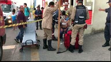 Exclusivo: idoso ferido durante tiroteio fala com a equipe do JPB1ª, em João Pessoa - Tiroteio foi no sábado, no Terminal de Integração.