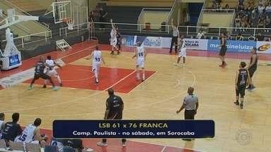 Franca abre no segundo período, vence a LSB e segue na cola do líder Bauru - Vitória mantém equipe francana na segunda colocação do estadual, atrás apenas do Dragão