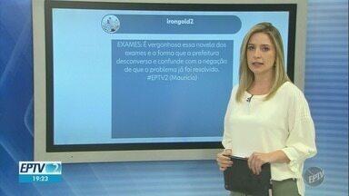 O que você gostaria de comentar sobre EPTV 2? - Envie o seu comentário pela tag EPTV2 nas redes sociais.