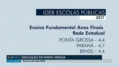 Governo Federal divulga índice da educação básica - Veja como ficou o índice em Ponta Grossa.