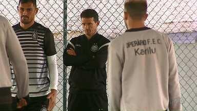 Operário tem semana decisiva e recheada de treinos - Vitória simples garante o Fantasma na final da Série C.