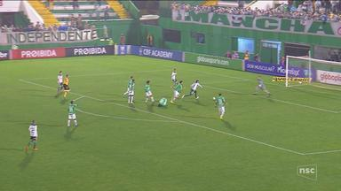 Chapecoense perde para o Palmeiras e se complica na Série A - Chapecoense perde para o Palmeiras e se complica na Série A