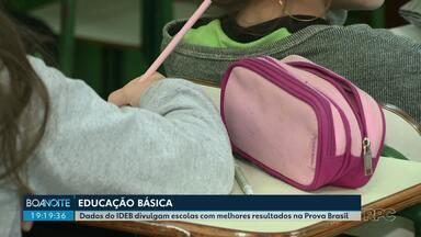 Anos iniciais da educação básica de Londrina ficam com média 6,8 no IDEB - Já a média das escolas estaduais, do 6º ao 9º ano, foi de 4,9. Os dados foram divulgados hoje pelo Ministério da Educação.