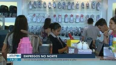 AP é o 4º estado do Norte que mais abriu postos de trabalho formais - Foram pouco mais de 1,6 mil vagas no Amapá, entre janeiro e julho de 2018.