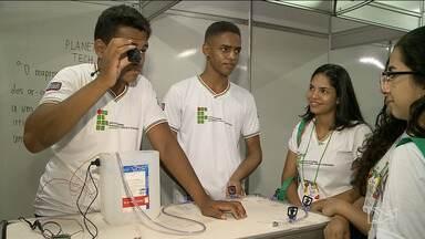 'Universo IFMA' tem início em São José de Ribamar - Mais de 100 projetos de pesquisa, extensão e inovação estão sendo apresentados por alunos do Instituto Federal do Maranhão.