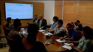 TCE anuncia medidas para evitar uso do dinheiro das prefeituras em campanhas eleitorais - As medidas foram apresentadas em coletiva