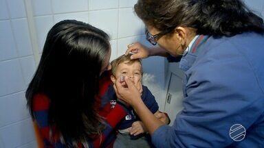 Campo Grande prorroga campanha de vacinação - Meta de vacinação contra pólio e sarampo vai até dia 14 deste mês.