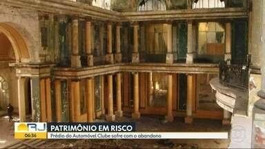 Prédios históricos da cidade passam por abandono e falta de manutenção - Bom Dia Rio foi aos prédios históricos da cidade do Rio e contatou abandono e falta de manutenção dos imóveis.