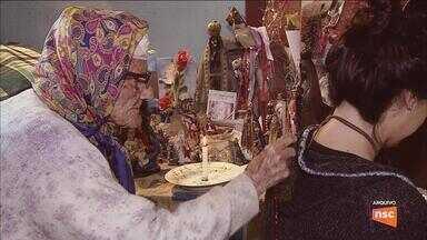 Morre a benzedeira centenária Tia Hilda em Florianópolis - Morre a benzedeira centenária Tia Hilda em Florianópolis