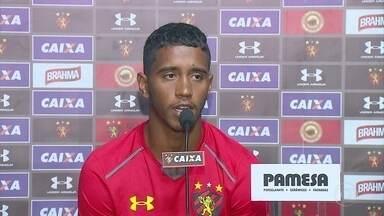 Sport tem dois baianos no elenco, mas só Gabriel joga contra Bahia: Brocador desfalca time - Jogo pela Série A é nesta quarta, em Salvador