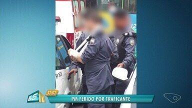 Policial fica ferido em troca de tiros com traficantes em Vila Velha, ES - Um criminoso também ficou ferido.