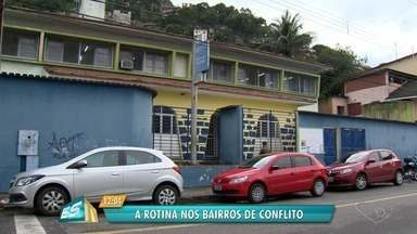 Polícia reforça segurança em bairros violentos da Grande Vitória - Operação foi intensificada em Consolação e Santa Marta, em Vitória.