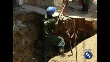 Moradores do bairro do Guamá estão sem água nesta quarta-feira, 5 - Cosanpa realizam manutenção em uma tubulação no bairro