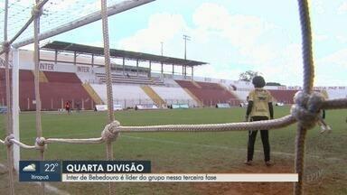 Inter de Bebedouro treina para manter boa fase na Segunda Divisão do Paulista - 'Lobo' é líder no grupo na terceira fase da competição.