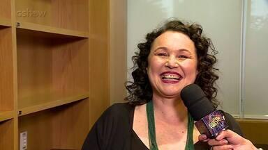 Kelzy Ecard participa do 'Domingão' - Confira o vídeo!