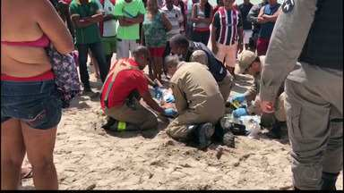 Homem morre afogado em Cabedelo - O Samu esteve no local, mas a vítima não resistiu.