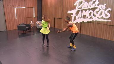 Veja como foram os ensaios de Bia Arantes - Atriz é participante do 'Dança dos Famosos 2018'