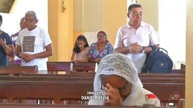 Romeiros lotam Cariri durante as missas da Candeia - Confira mais notícias em g1.globo.com/ce