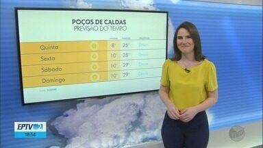 Confira a previsão do tempo para esta quinta-feira (6) no Sul de Minas - Confira a previsão do tempo para esta quinta-feira (6) no Sul de Minas