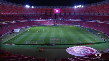 No Beira-Rio, Internacional recebe partida Flamengo pelo Brasileirão - Assista ao vídeo.