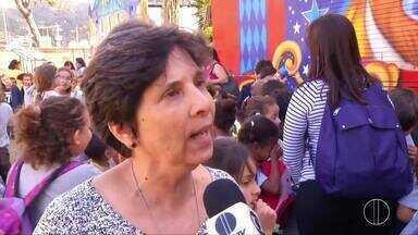 Projeto 'Dia do Circo' é realizado pela Inter TV em parceira com circo em Petrópolis, RJ - Assista a seguir.